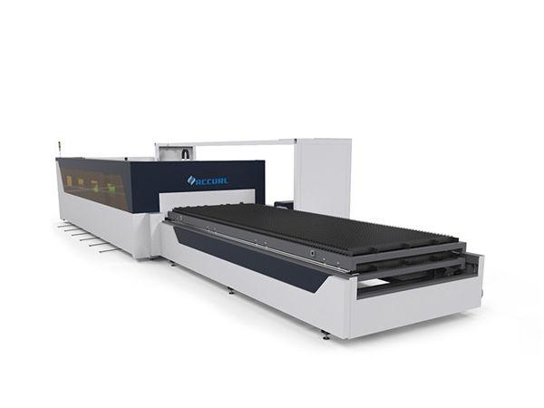 4mm baja karbon tabung pipa lembaran serat laser mesin pemotong dengan raytools