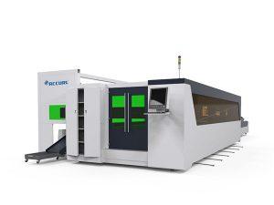 tabung logam dan pelat serat mesin pemotong laser kecepatan tinggi 1500w dengan perangkat rotary