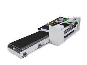 6000mm tabung logam mesin laser cutting fokus otomatis presisi tinggi