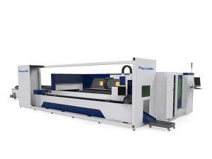 pipa logam industri mesin pemotong laser listrik didorong gaya laci tray