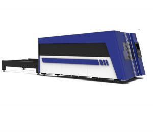1500W serat laser mesin pemotong lembaran logam