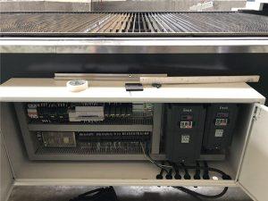 Mesin laser cutting logam cnc / pemotong laser serat optik
