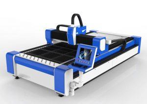 Mesin pemotong laser serat 500w untuk stainless steel / kecepatan tinggi 100m / mnt