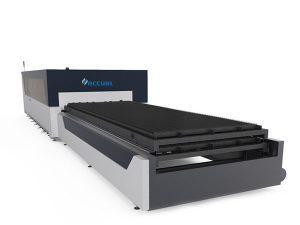 piring / tabung logam serat laser mesin pemotong 1000 watt usa kepala pemotongan lasermech