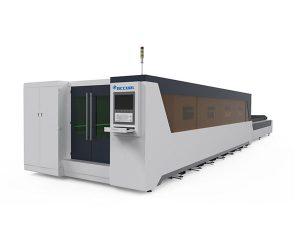 pengolahan logam industri mesin pemotong laser tipe 1000W tertutup penuh