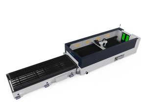 serat laser cutting logam presisi tinggi 500 w raycools cutting head