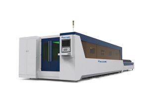 peralatan pemotongan laser serat stabil, pelat baja laser mesin pemotong kinerja tinggi