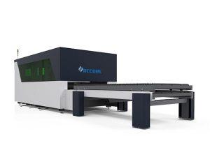 pemotong logam serat laser cerdas transmisi halus kekakuan yang baik