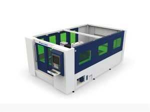 mesin pemotong serat laser 500w mini untuk tabung dan lembaran tertutup