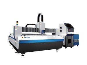 stainless steel daya tengah mesin pemotong laser, 1500 w laser mesin pemotong lembar