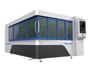 500w logam serat laser cutting machine blade table dengan sistem jalur cahaya