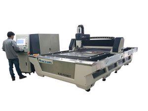 serat laser cutting mesin cnc 1000 w 1080nm laser tertutup penuh tertutup
