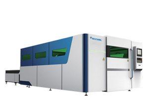 iklan logam mesin pemotong serat laser ukuran kecil 1070nm panjang gelombang