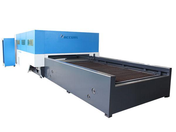 kecepatan tinggi lembaran logam mesin pemotong cnc stabil z sumbu pelacakan otomatis