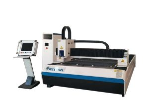 Hemat 25m / min sheet metal cutting machine dengan sistem jalur cahaya
