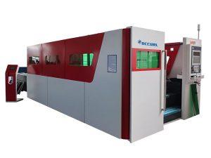 1000W pipa logam mesin pemotong serat laser