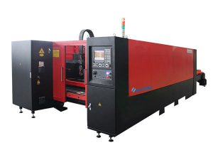1000W industri mesin laser cutting kebisingan rendah akurasi tinggi untuk memotong baja karbon