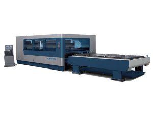 cnc logam industri mesin laser cutting, 380 v / 50 hz 1kw 1.5kw sumber laser