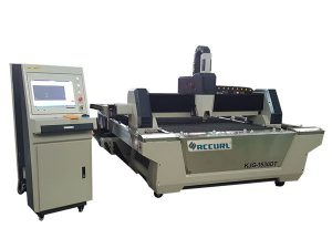 2000w serat laser cutting peralatan / rak transmisi untuk tabung bulat