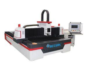 pelat logam pemotong laser kecil, mesin pemotong logam laser kecil 60m / mnt