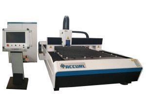 Mesin pemotongan laser serat logam tipe terbuka untuk stainless steel