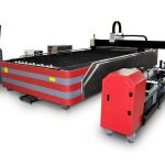 Jenis serat laser cutting mesin tertutup 500 w / 1000 w kekuatan tinggi