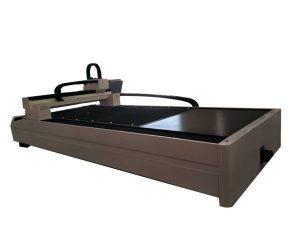 piring / tabung logam serat laser mesin pemotong meja kerja tunggal