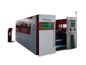 otomatis mesin pemotong laser industri kecepatan tinggi meja pertukaran ganda