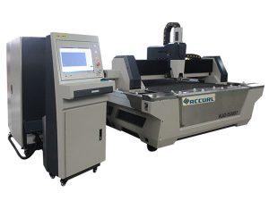 serat logam cnc mesin pemotong laser kecepatan potong tinggi untuk baja karbon