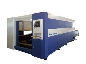 380V / 50Hz mesin pemotong baja laser, pemotong laser serat optik pintar