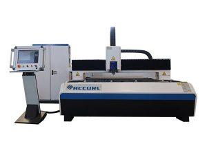 Mesin pemotong serat laser presisi 500W memotong permukaan bersih dengan sistem pendingin air