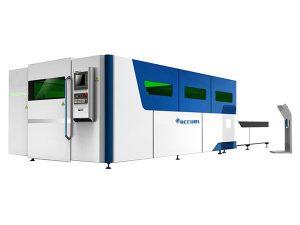 sepenuhnya tertutup industri mesin laser cutting pertukaran meja presisi tinggi