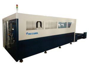 Kontrol cnc serat laser mesin pemotong pipa, pemotong serat optik perak serat