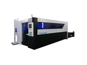 Mesin pemotong serat laser 500W untuk baja karbon