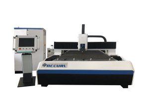 mesin pemotong serat laser pipa bulat logam dengan sistem pendingin air