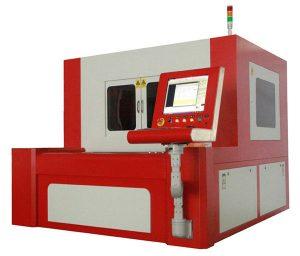 mesin pemotong laser serat presisi kecil untuk baja karbon