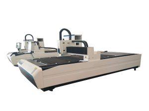 penggunaan ganda peralatan pemotong tabung laser, profesional cnc laser tabung mesin pemotong