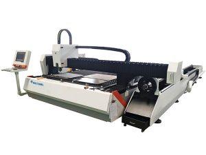 1000w tabung logam serat laser mesin pemotong kecepatan disesuaikan
