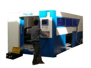 2kw serat optik mesin laser cutting kecepatan disesuaikan untuk tabung logam